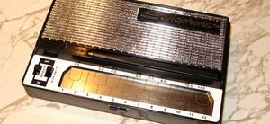 The Stylophone, with optional vibrato switch.