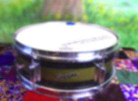 Snare Rogers two tone 6 lug focus.jpg