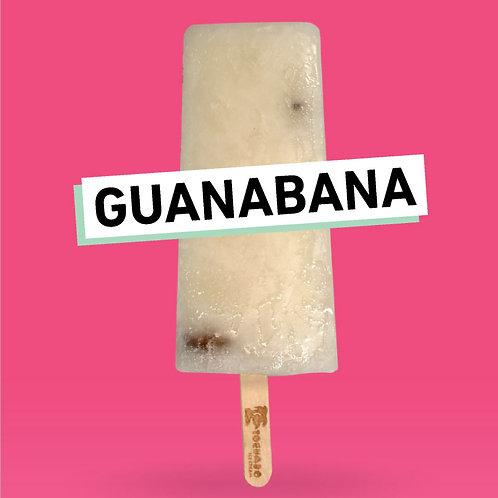 Guanabana Paleta (Soursop Popsicle)