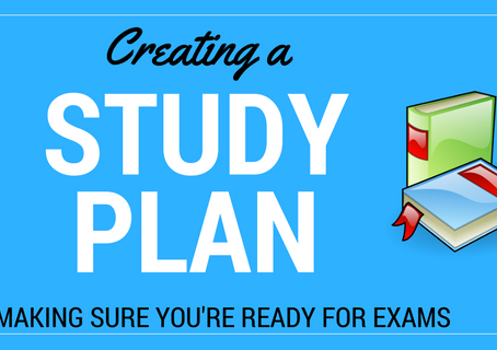 Creating a study timetable