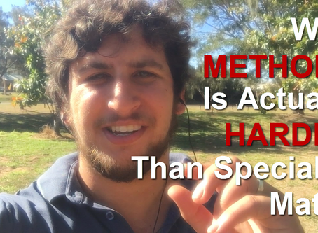 [VIDEO] Why Methods Is Actually Harder Than Specialist Maths