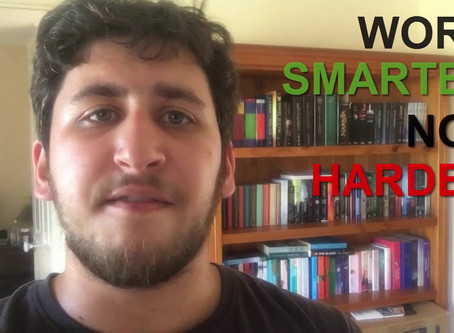 VIDEO: Work Smart, Not Hard