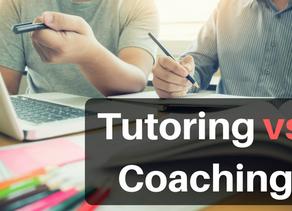 Tutoring vs. Coaching