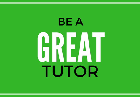 If you want to be a great tutor, be this kind of tutor
