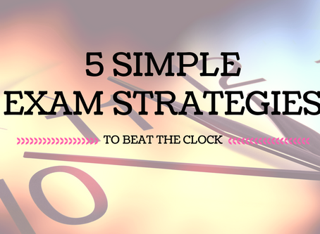 Top 5 tips to make the most of your time during exams
