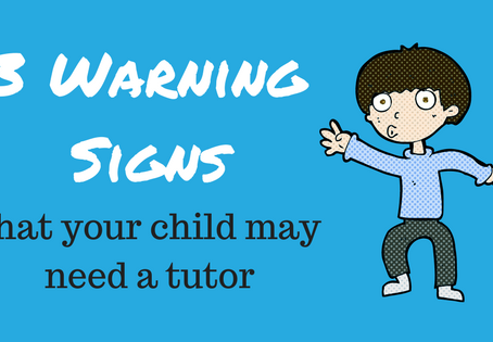 3 Warning Signs That Your Child May Need A Tutor
