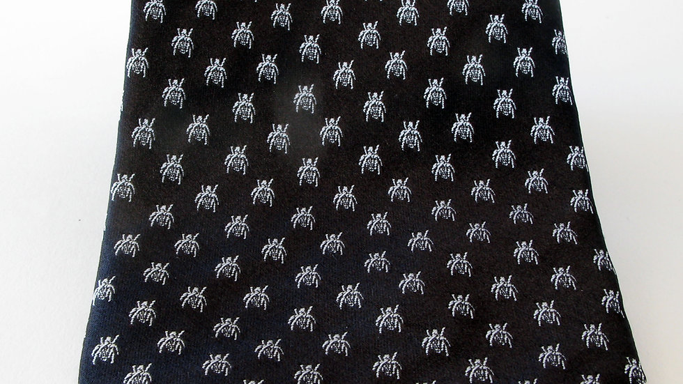 Polka Dot Beetle - Black with White