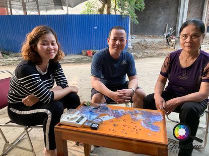 Gemstone Traders in Luc Yen, North Vietn