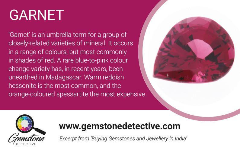 Garnets for Pride | www.gemstonedetective.com