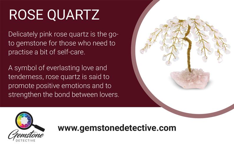 Rose Quartz Gemstone | gemstonedetective.com