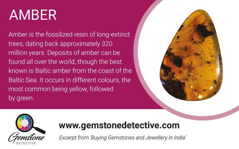 Amber Gems | www.gemstonedetective.com