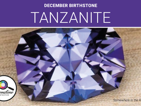 December's birthstone Tanzanite