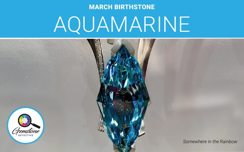 Blue gemstone Aquamarine | www.gemstonedetective.com
