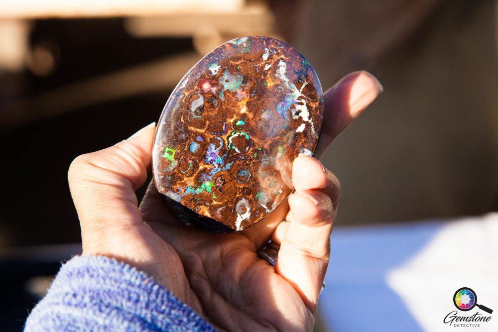 Boulder Matrix Opal | www.gemstonedetective.com