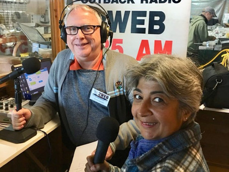 Kim Rix on Outback Radio!