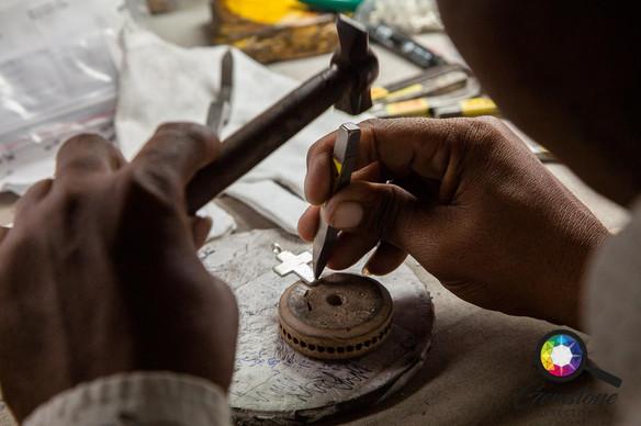 Jewellery manufacturing in Jaipur, India