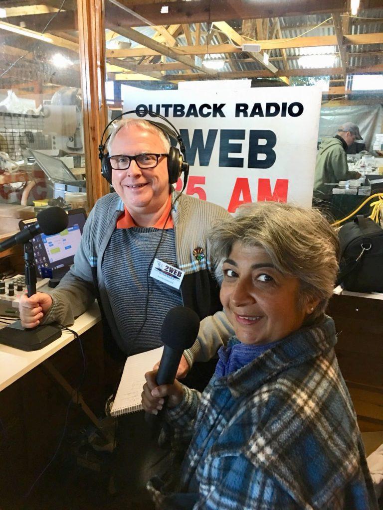 Kim Rix Outback-Radio-Interview