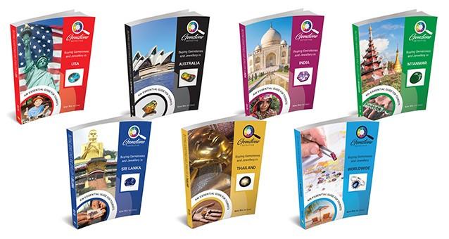 Gemstone Travel books bundle