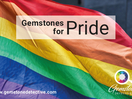 Six gemstones for Pride Month