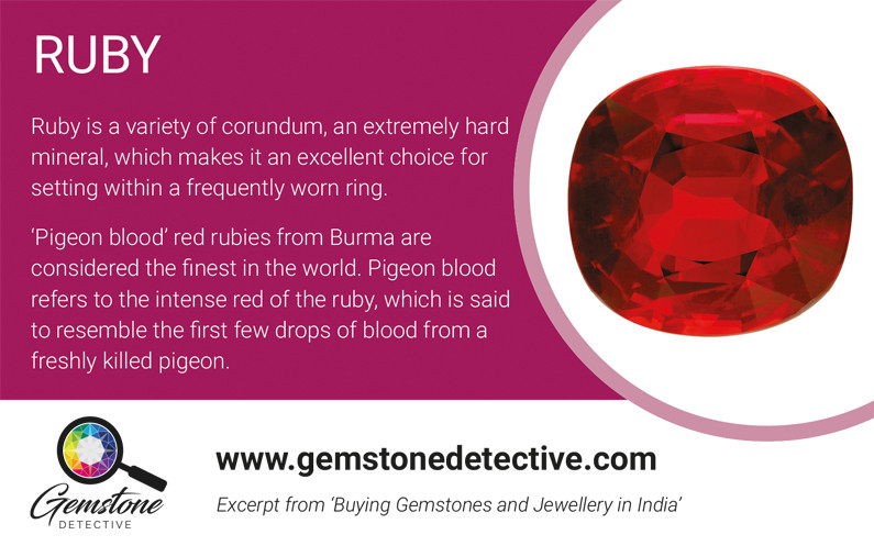 Ruby gemstone | gemstonedetective.com