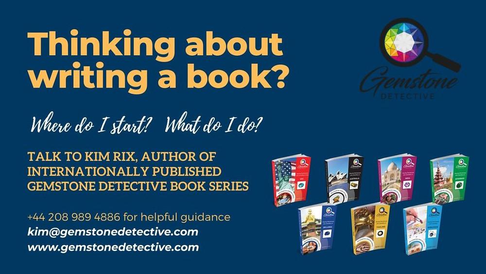 Writing a book? | www.gemstonedetective.com