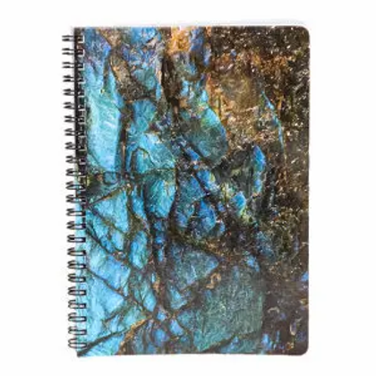 Notebook for Gemstone Collectors Labradorite