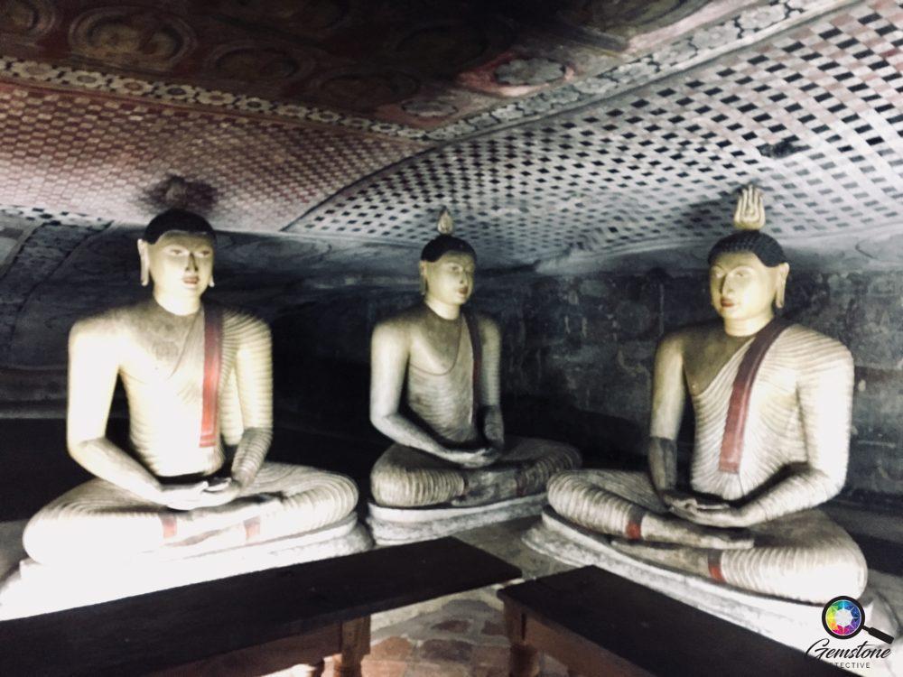 Dambulla Cave Temple   www.gemstonedetective.com