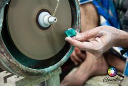 Cutting, polishing and shaping gemstones