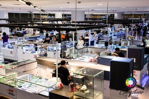 Inside the Jewellery Trade Center Bangko