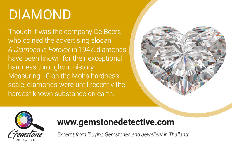 Diamond romantic gemstone