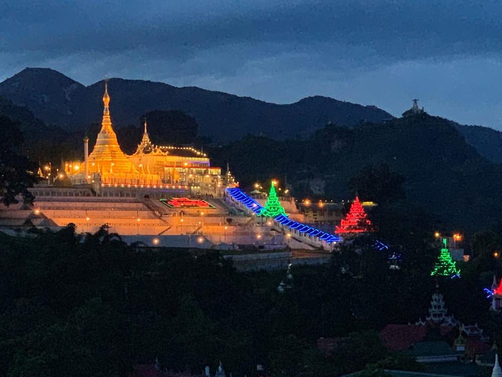 Mogok's Buddhist temple | www.gemstonedetective.com