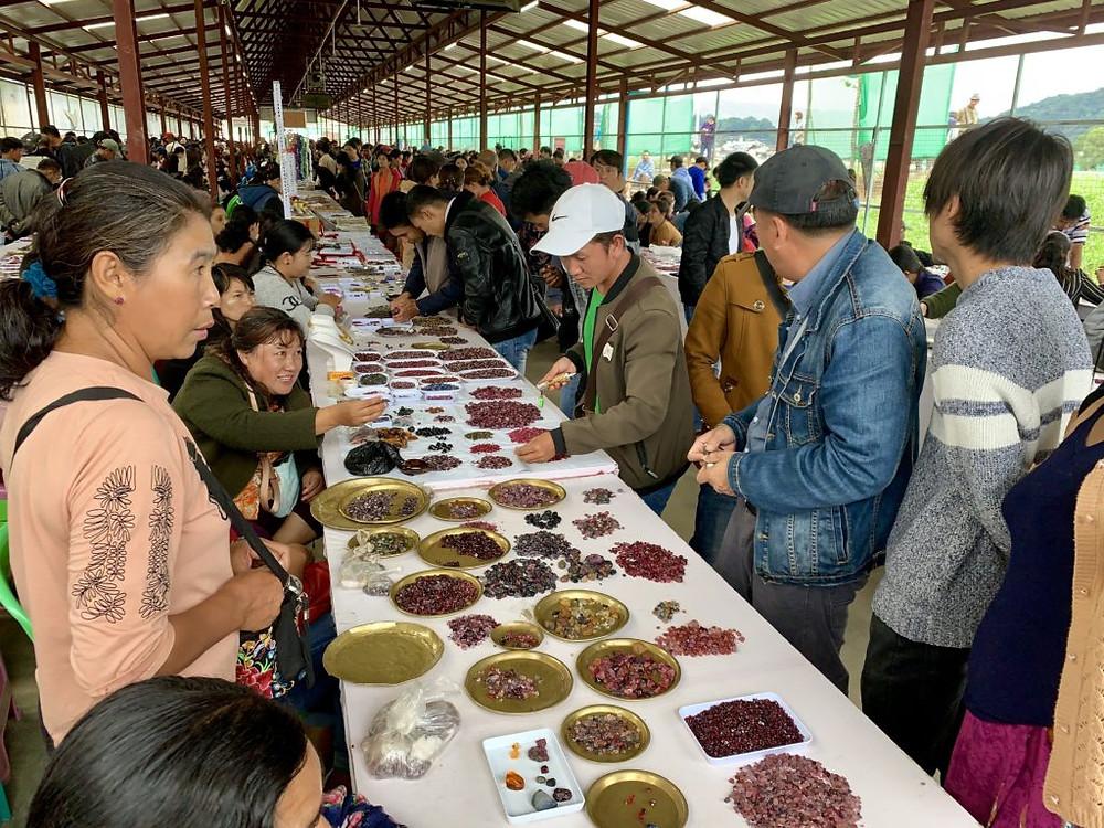 Mogok Gem Market | www.gemstonedetective.com