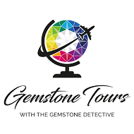 Gemstone Tours with Gemstone Detective logo