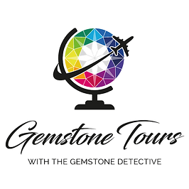 Gemstone Tours with Gemstone Detective logo