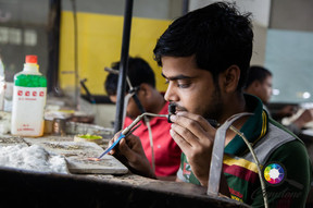 Jewellery being made in Jaipur, India.jp