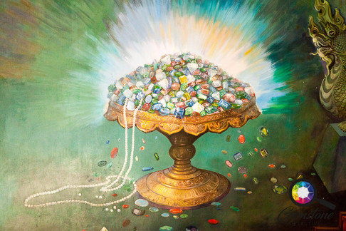 A painting depicting the abundance of ge