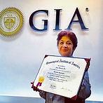 Kim with certificate.jpg