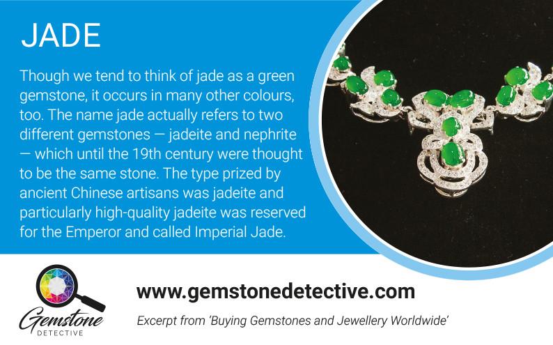 Jade for Pride month | www.gemstonedetective.com