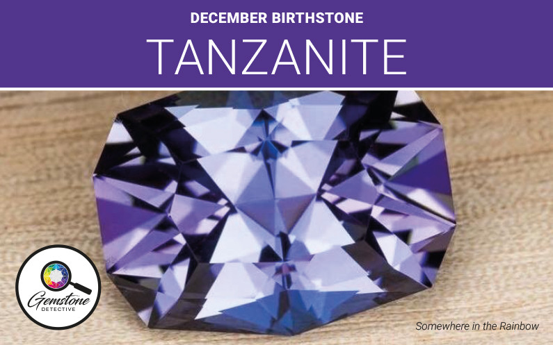 Blue Gemstone Tanzanite | www.gemstonedetective.com