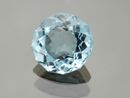 Gemstone for a 4th Anniversary: Blue Topaz