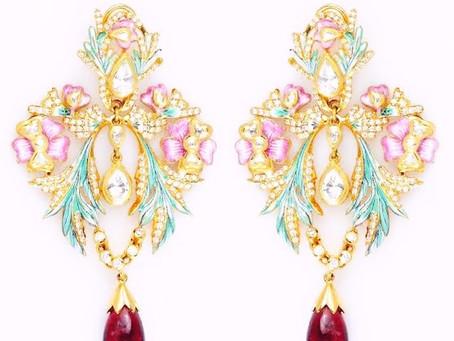 Minakari and Kundan Meena Jewellery