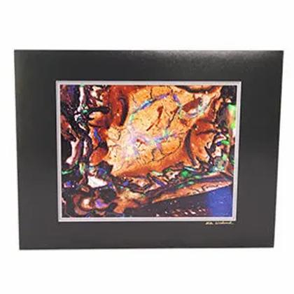 Macro Photo of Australian Opal