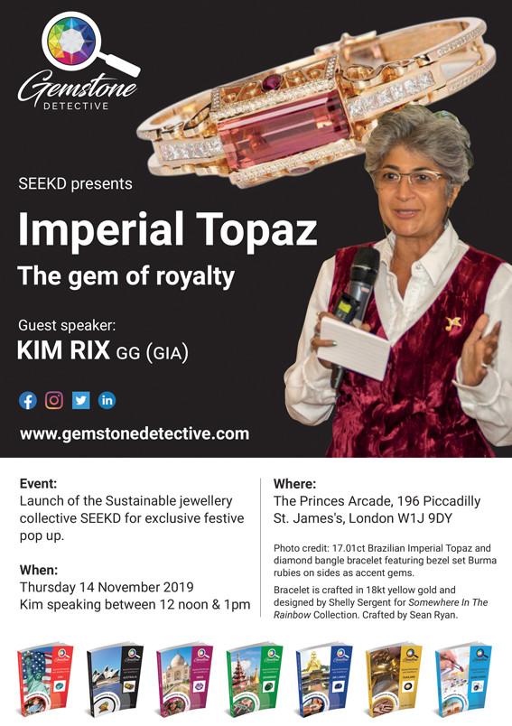 Guest Speaker Kim Rix | www.gemstonedetective.com