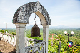 The view from the Boddhist temple Khao P