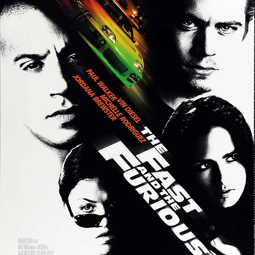 The Fast and the Furious - 11:45pm Showtime