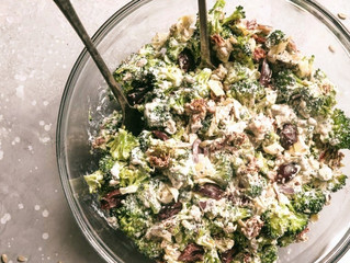 What's For Dinner? | Mediterranean Broccoli Salad
