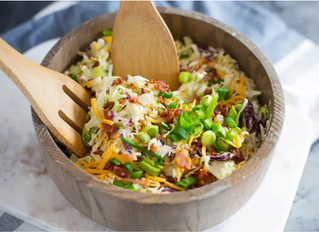 What's For Dinner? | Loaded Keto Coleslaw