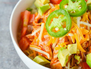 What's For Dinner? | Chicken Enchilada Bowl