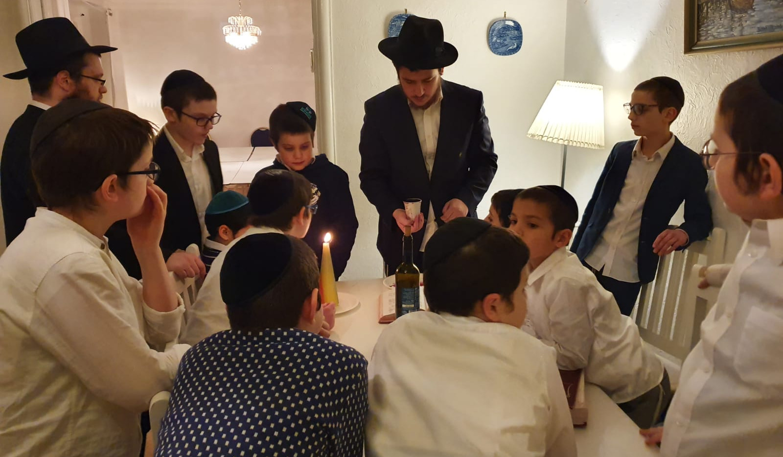 Shabbos in camp is like Simchas Torah