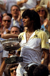 yannick noah-1983 French Open